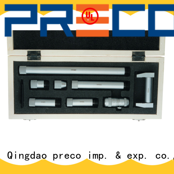 PRECO threepoint inside micrometer measurement factory for mechanical