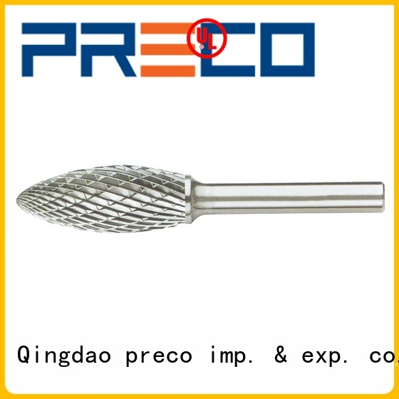 PRECO sophisticated die grinder burrs for steel inquire now for cutting metal