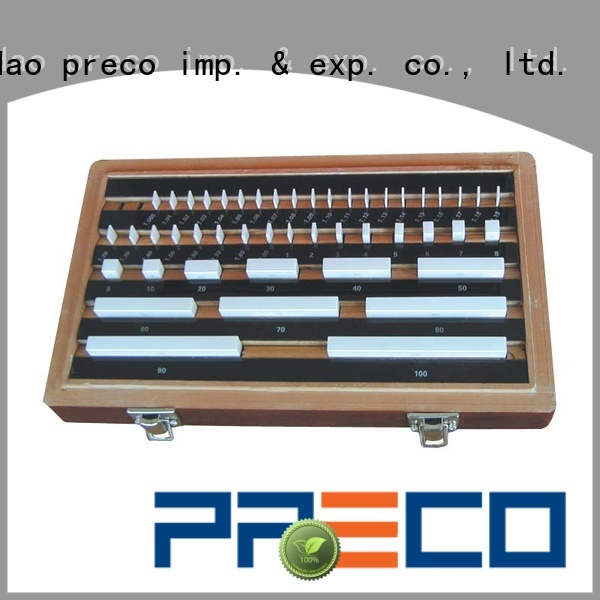 PRECO size gauge block set for workshop