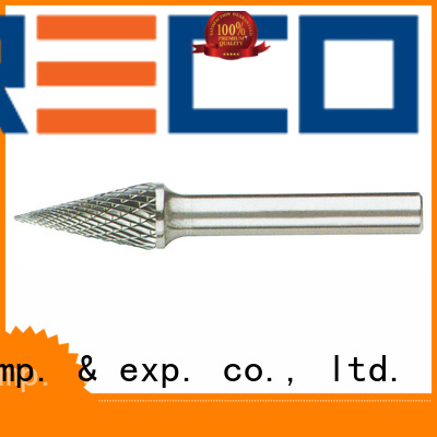 PRECO setshape double cut carbide burr inquire now for cutting metal