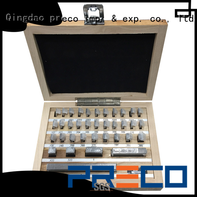 PRECO solid steel gauge block set request for quote for Caliper