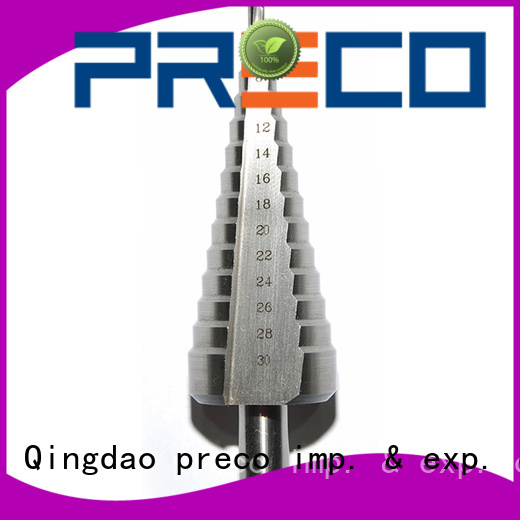 PRECO step step drill manufacturers engineering
