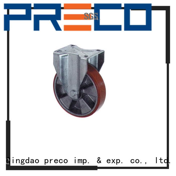PRECO polyamid steel caster wheels chinese manufacturer For Furniture Wheels