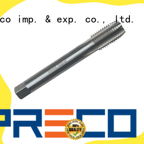 PRECO spiral flute machine tap manufacturers for Metal Working