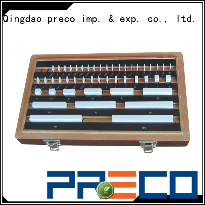 PRECO best precision gauge blocks inquire now for workshop
