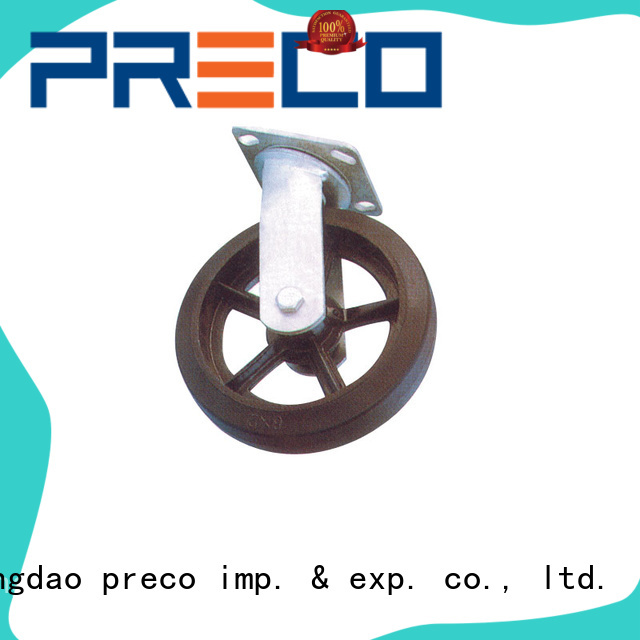 PRECO steel casters and wheels chinese manufacturer for Scaffold