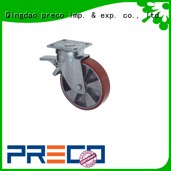 PRECO hot recommended cast iron caster wheels cast for car