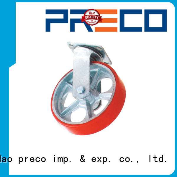 PRECO hot recommended heavy duty swivel wheels For Furniture Wheels
