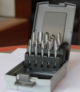carbide burr sets for aluminum mtaper for cutting metal PRECO-5