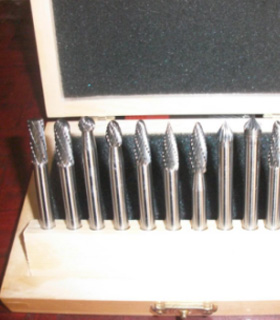 carbide burr sets for aluminum mtaper for cutting metal PRECO-7