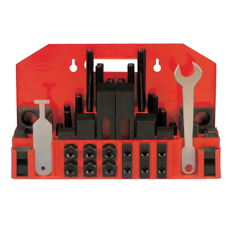 58-Pcs Clamping Kit for 3/8''-3/4'' T Slot-PRECO