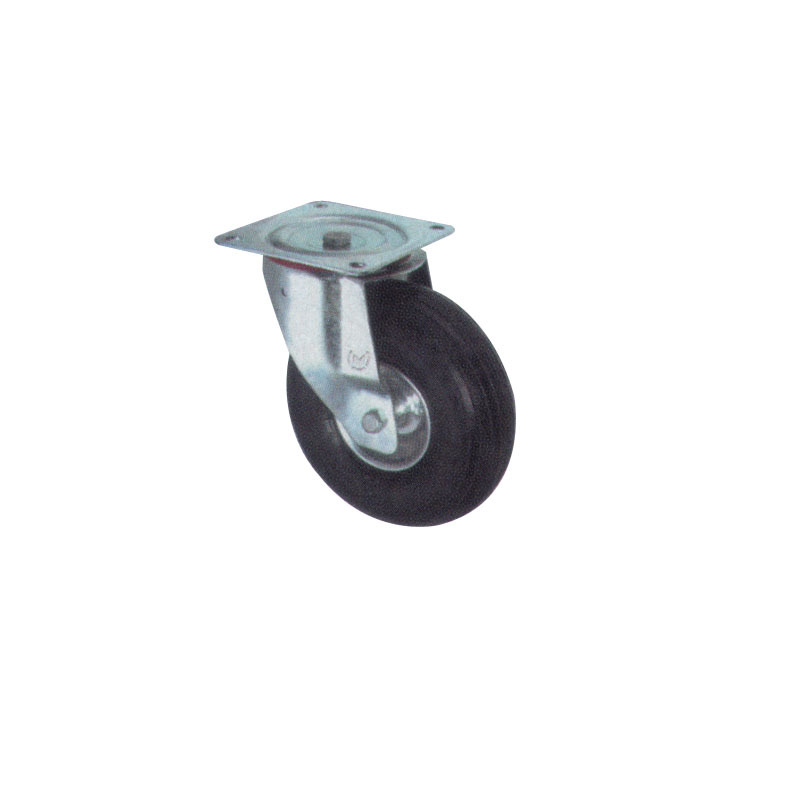 Heavy Duty Pneumatic Casters Wheel With Steel Body