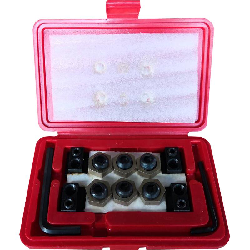 12-Pcs T-Slot Clamping Kits