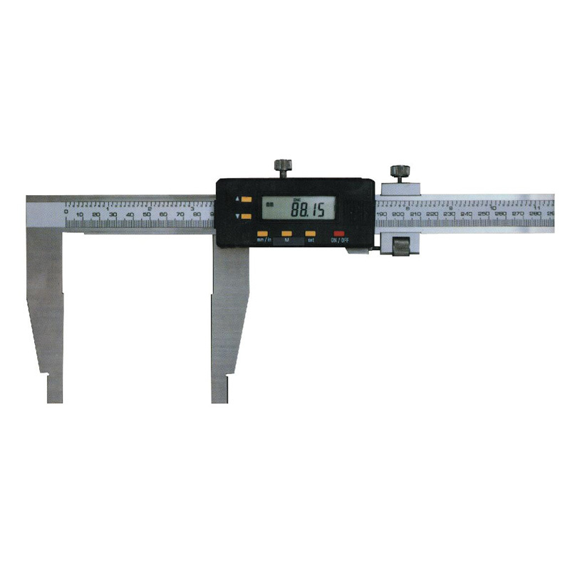 Heavy Duty Electronic Digital Caliper With Fine Adjustment