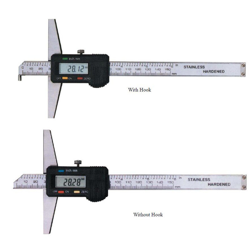 Digital Depth Gage With Hook Or Without Hook