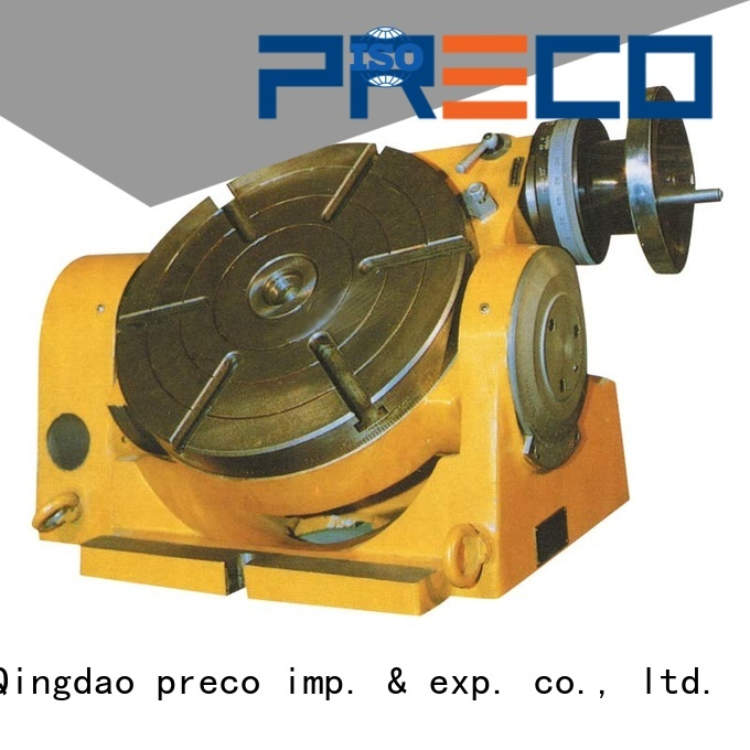 PRECO new rotary table for milling machine