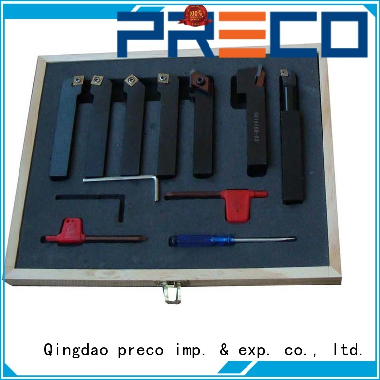 PRECO trustworthy carbide turning tools factory for wood turing