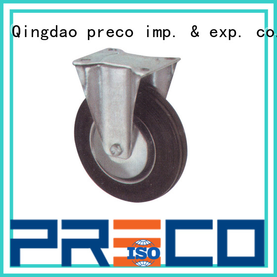 pu rubber caster wheels heavy duty quick transaction for Scaffold PRECO