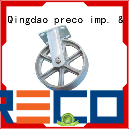 safety steel swivel casters pneumatic China Factory For Hospital