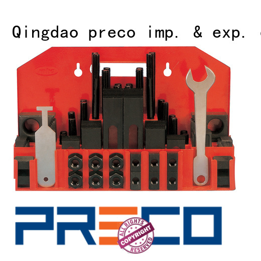 PRECO 5 star services clamping kits top brand for factory