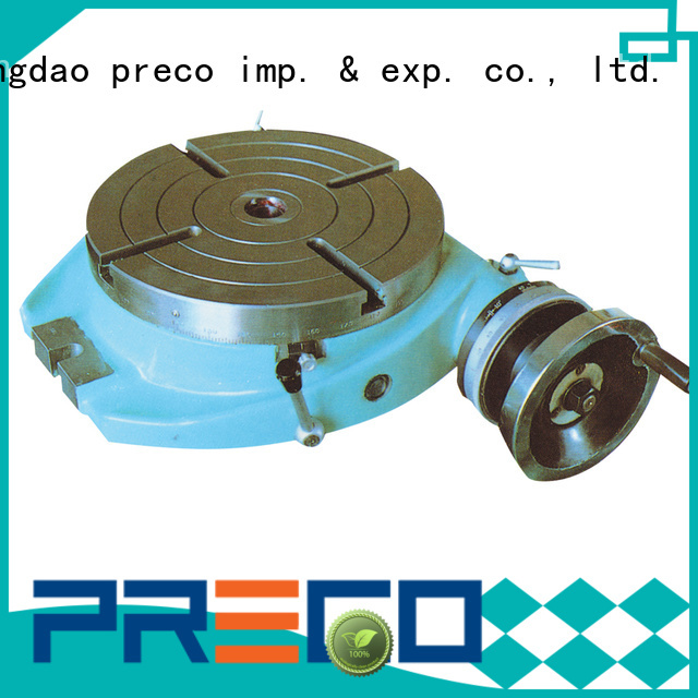 PRECO top precision rotary table factory for milling machine