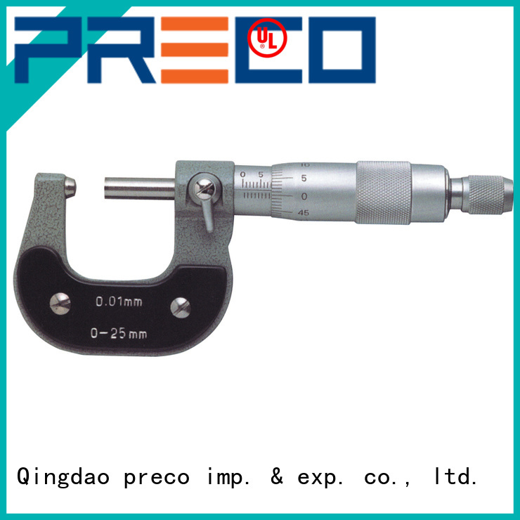 PRECO anvils outside micrometers manufacturer