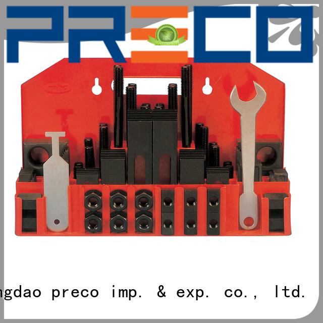 PRECO clamping t slot clamping kit export wordwide