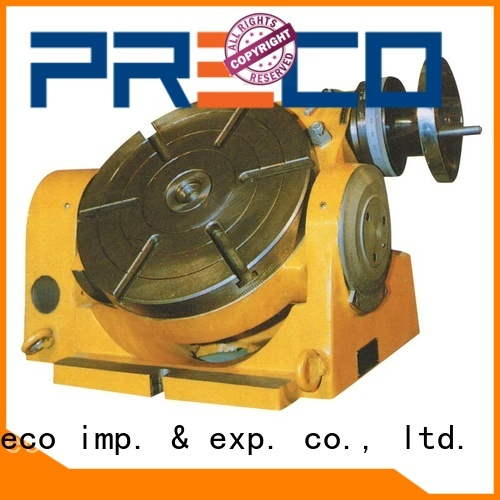 PRECO Powerful horizontal vertical rotary table inclineable for water drill