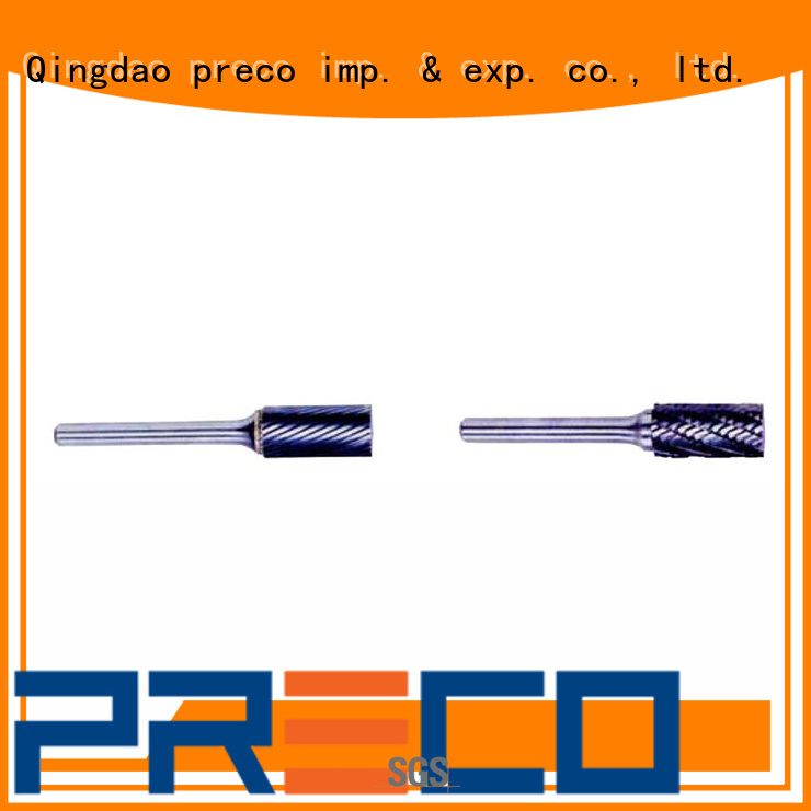 PRECO bitshape rotary burr for business for work piece drilling