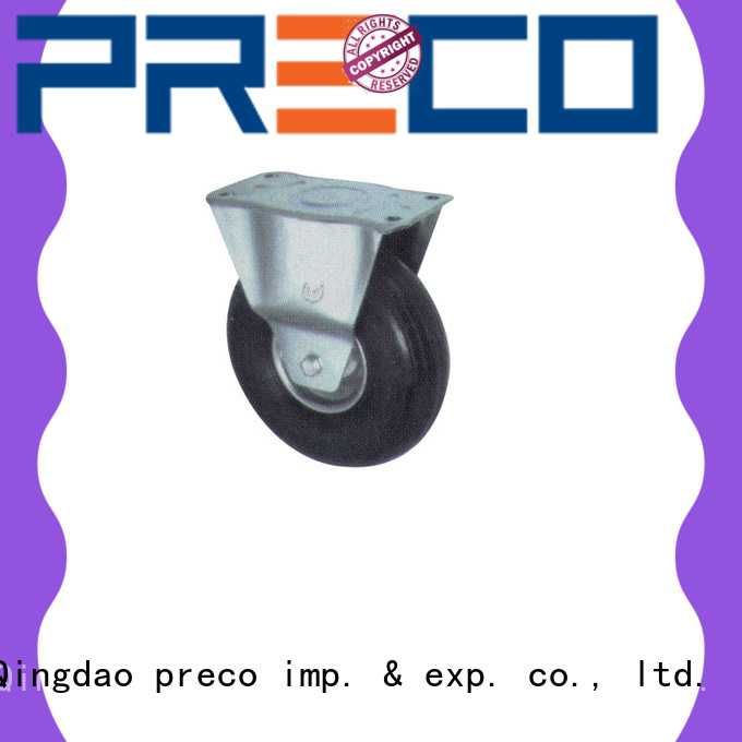 PRECO hot recommended caster wheels with brake pneumatic For Hospital