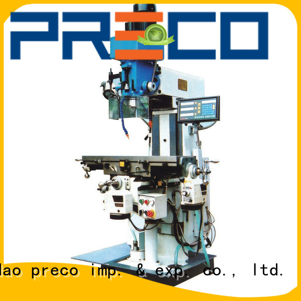 PRECO milling drilling and milling machines awarded supplier for machine processing