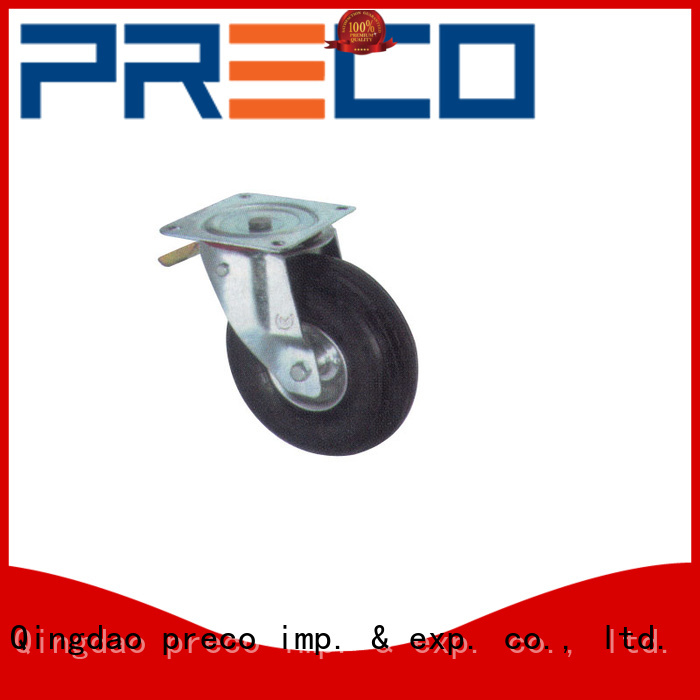 PRECO hot recommended swivel caster wheels manufacturer for Scaffold