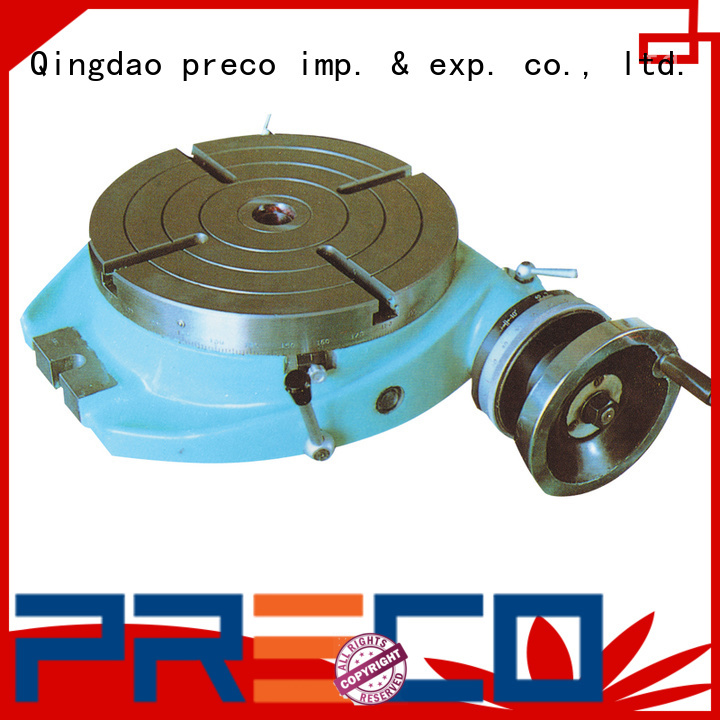 rotary vertical rotary table for water drill PRECO