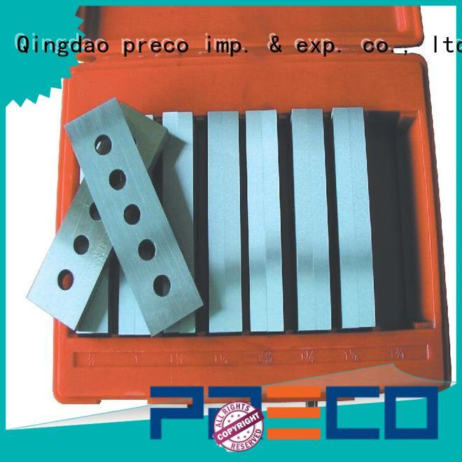 PRECO latest precision parallels sets china manufacturer for metal working