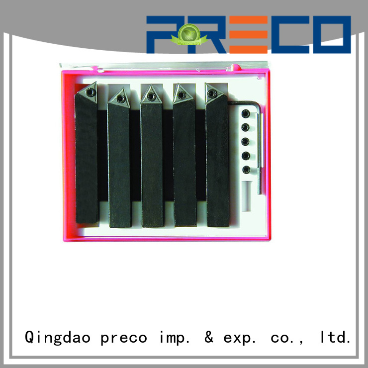 PRECO carbide indexable lathe tools company for wood turing