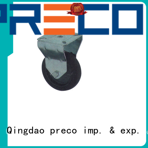 PRECO best quality steel caster wheels for business for car