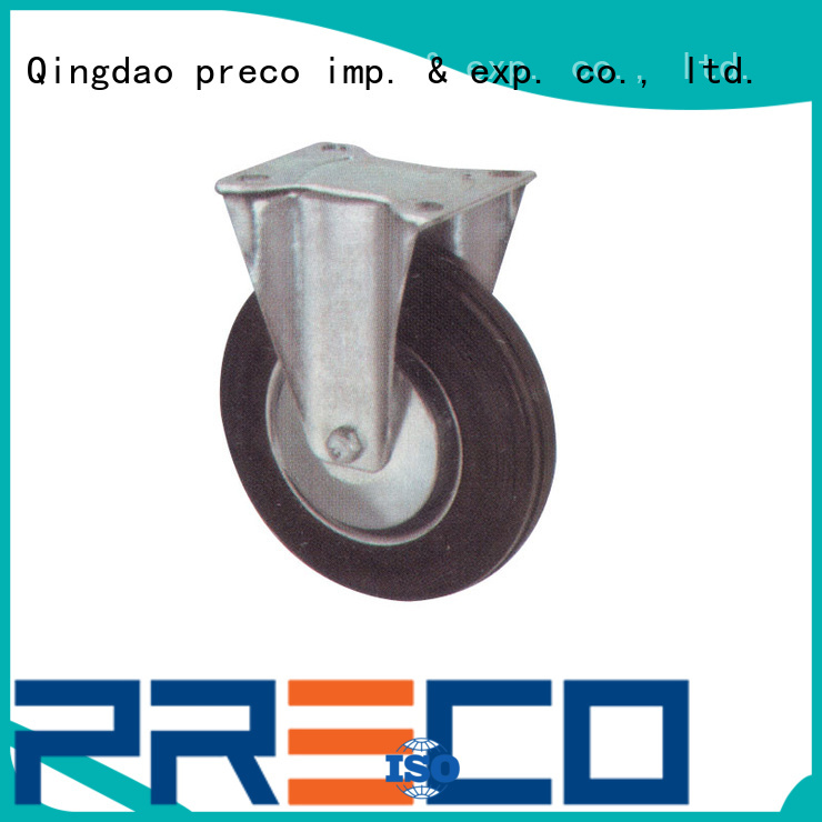 PRECO natural heavy duty swivel casters manufacturers for car