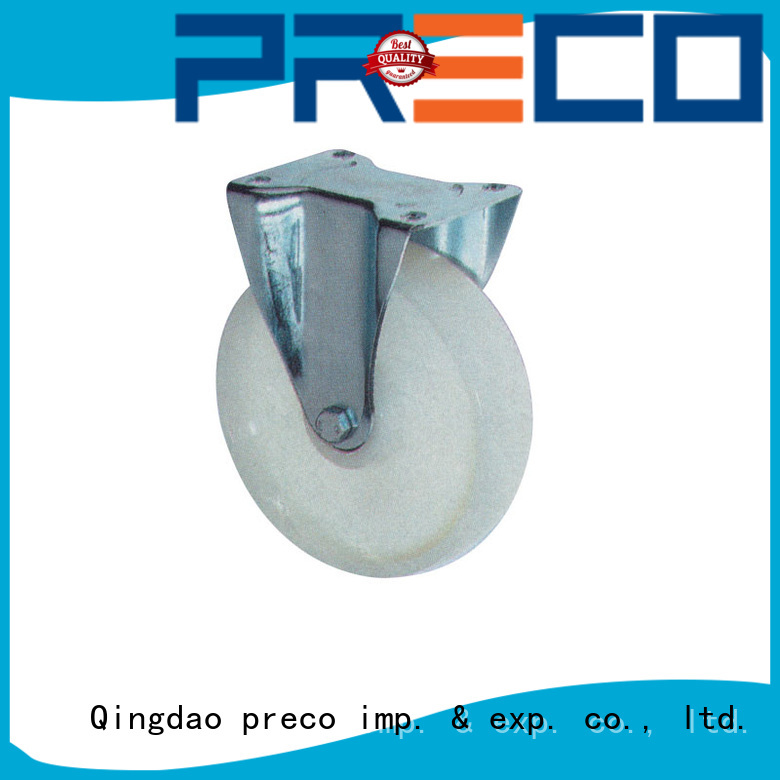 PRECO iron trolley wheels company for car