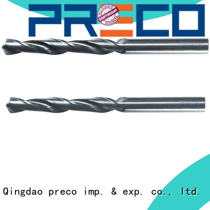 PRECO straight parallel shank drill supply