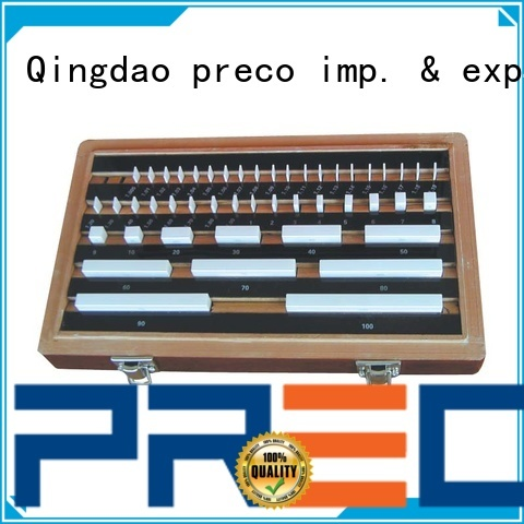 PRECO High Precision metric gauge blocks request for quote for workshop