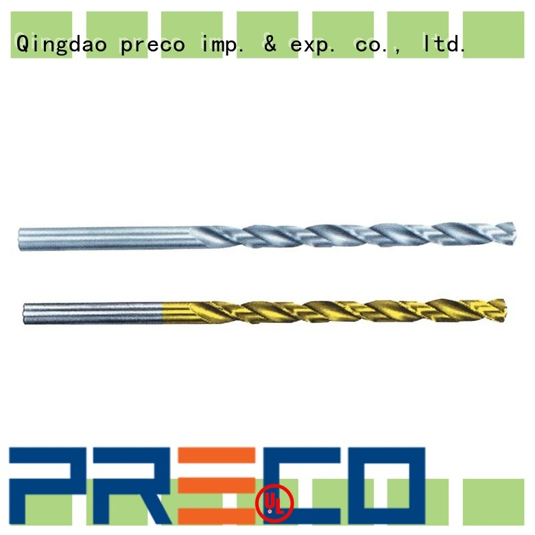 PRECO Straight Shank Twist Drills purchase online for car