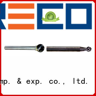 PRECO highly recommend carbide burr bit set 6mmshktaperflat for cutting metal