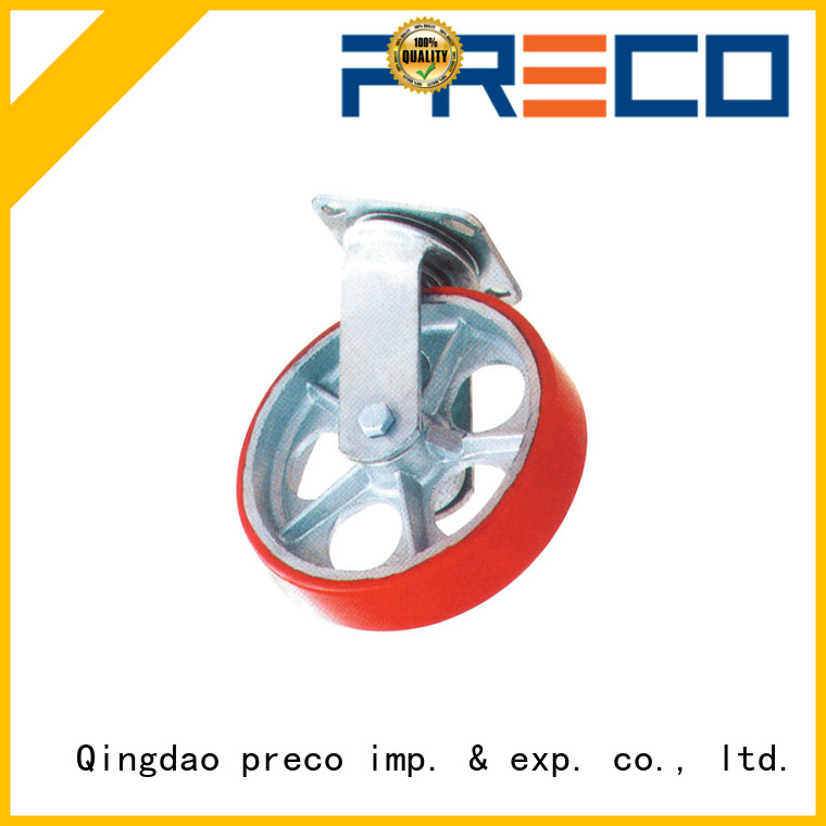 safety rubber caster wheels heavy duty polypropylen China Factory for Scaffold