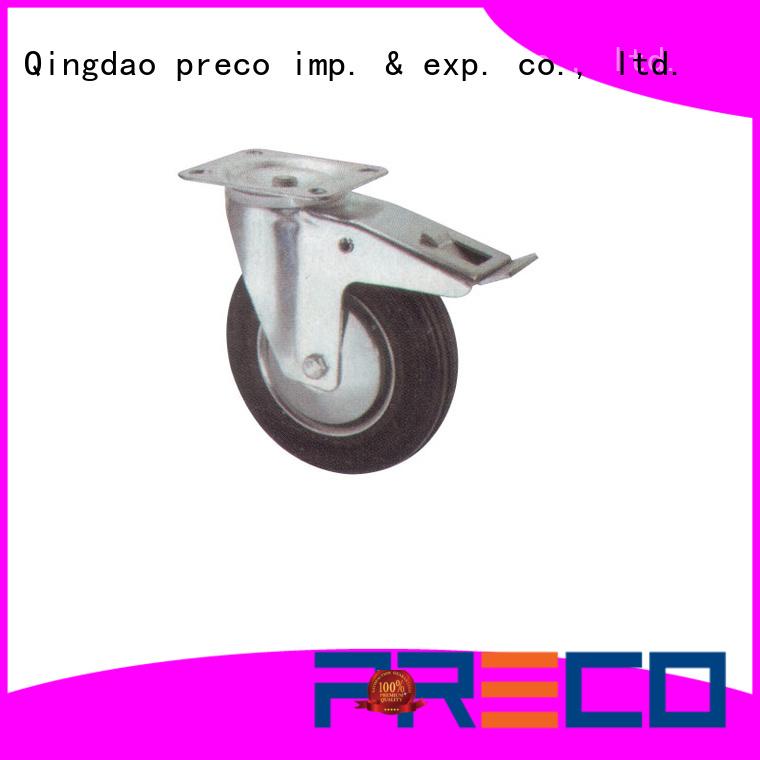 PRECO best quality heavy duty swivel wheels For Hospital