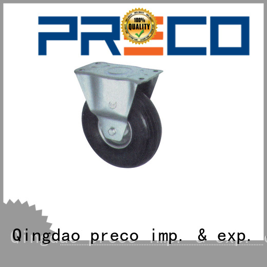PRECO safety pneumatic casters trader For Furniture Wheels