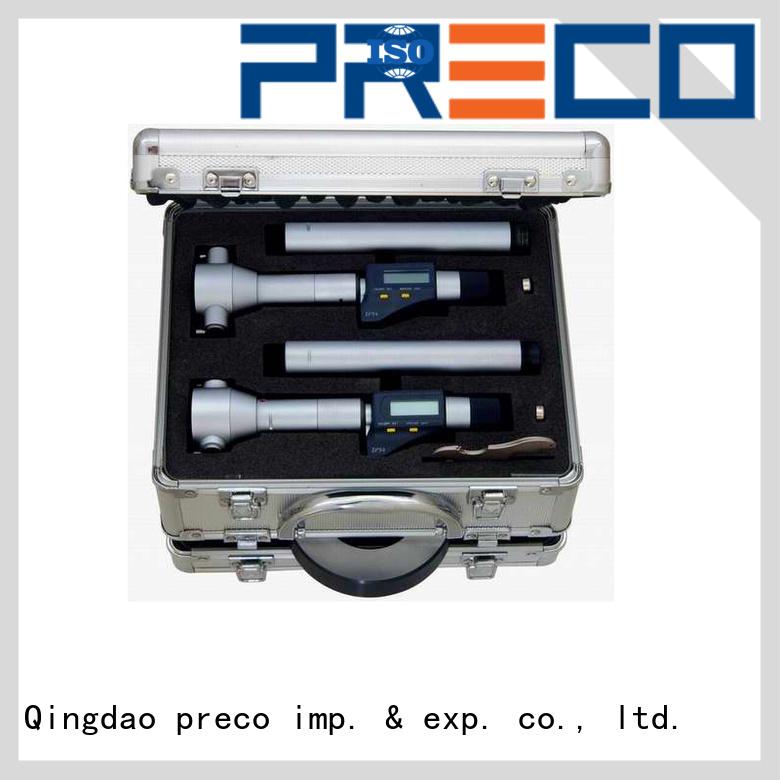 PRECO model v anvil micrometer for business for mechanical