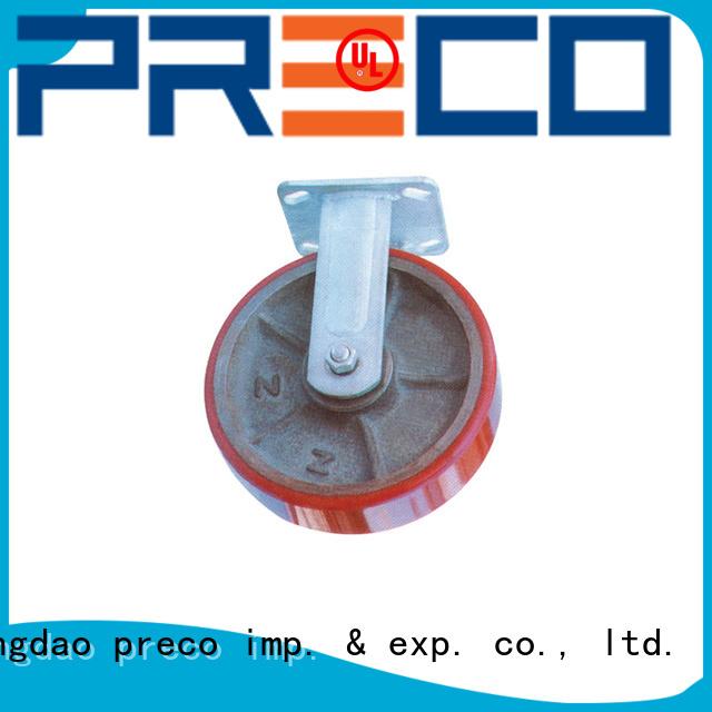 PRECO steel heavy duty swivel casters for Scaffold