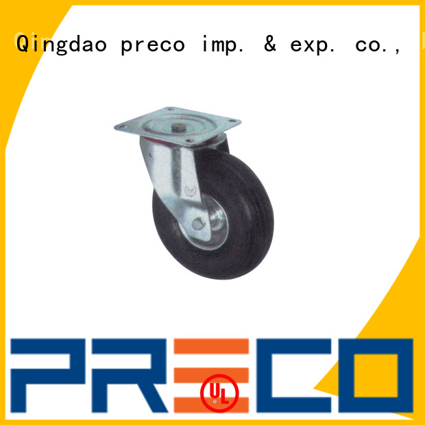 PRECO hot recommended steel swivel casters trader For Furniture Wheels