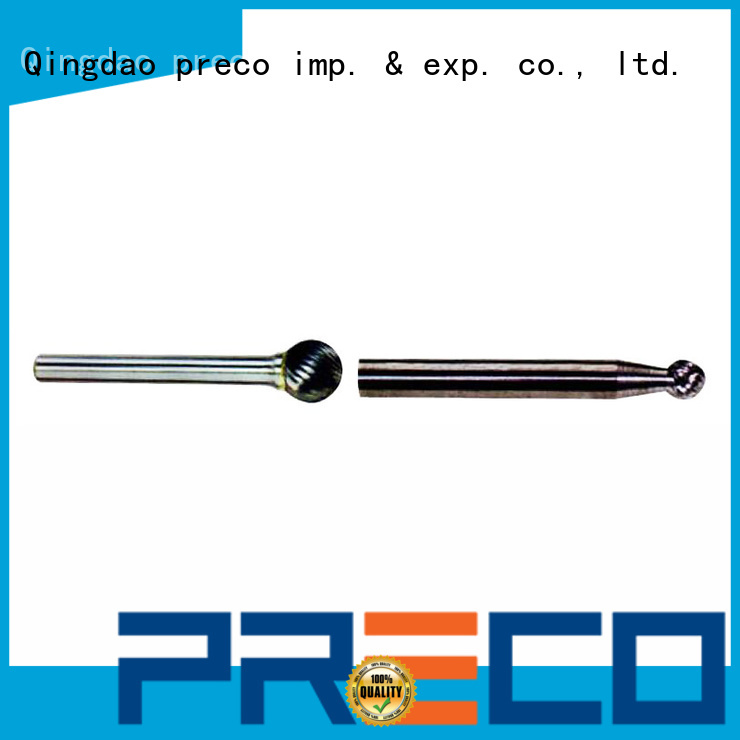 high quality burr bits for metal pointed customized for work piece drilling