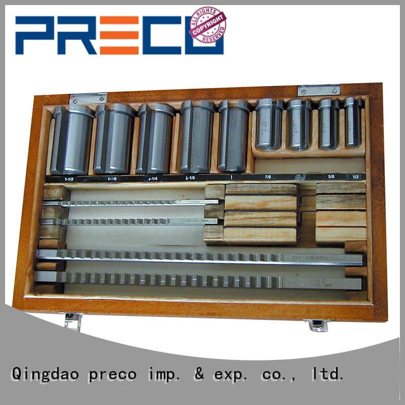 PRECO broach keyway broaching tool trader For Hospital